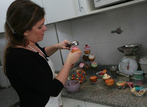 Cupcakes in BA, de Agustina Galindez. Foto: LA NACION / Graciela Calabrese