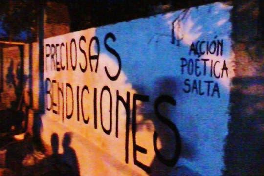 Acción Poética Salta, Capital. Foto: Facebook