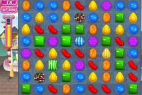 Candy Crush Saga, es un juego muy popular de Facebook, que fue analizado como fenómeno adictivo por científicos