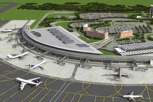 El aeropuerto internacional de Ezeiza Ministro Pistarini