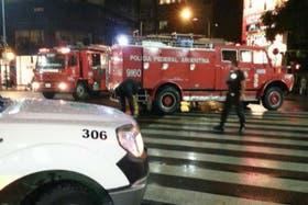 El fuego preocupó anoche a los vecinos de Belgrano