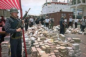 En el Nativa, de tripulación ucrania, hallaron 9 toneladas de cocaína
