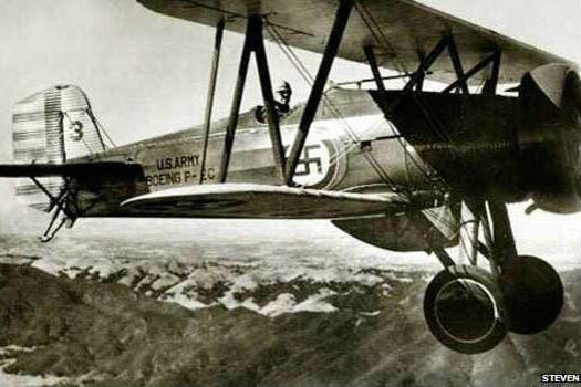 Unidades militares de Estados Unidos adoptaron la esvástica durante la Primera Guerra Mundial