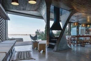 Una casa en sintonía con el paisaje
