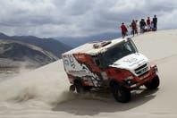 Federico Villagra terminó tercero y por primera vez un piloto argentino alcanza el podio entre los camiones