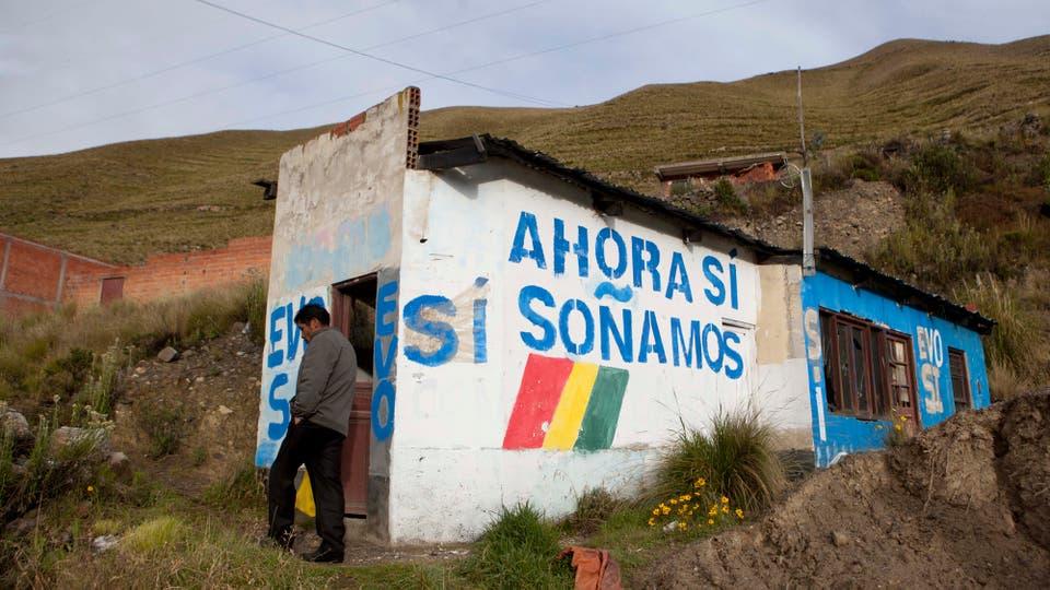 Los bolivianos votaron en el referéndum que define el futuro político de Evo Morales. Foto: AP