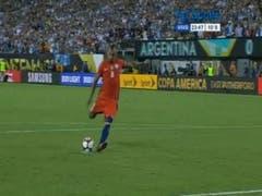 Definición del partido Argentina-Chile en la final de la Copa América 2016