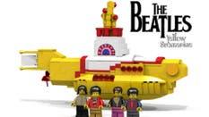 Lego y una línea en honor a los Beatles