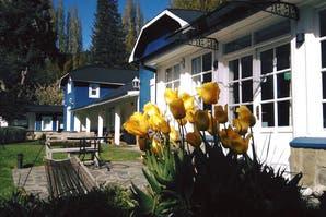 Pileta, flores y sol, para apsar el verano en La Casa de Eugenia en San Martín de los Andes