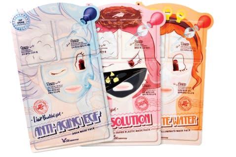 Pore solution 3 steps super elastic sheet mask de Elizavecca