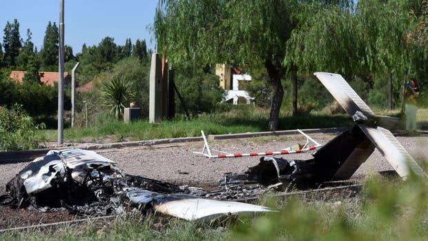 Una avioneta se estrelló en Mendoza