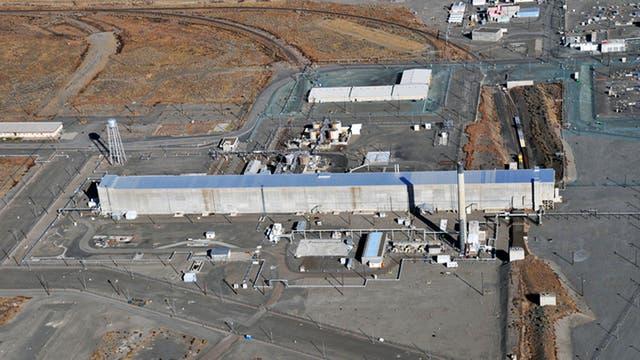 Vista aérea de la planta de Hanford