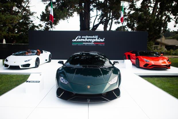 Lamborghini Collection en Pebble Beach