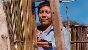 La firma Pasión Argentina vende los tejidos de las mujeres