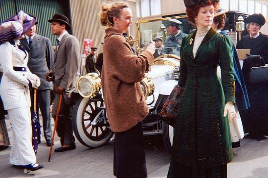 Kate Winslet y Frances Fisher, la actriz que encarna a su madre en la película. Foto: Gentileza Luis Incisa
