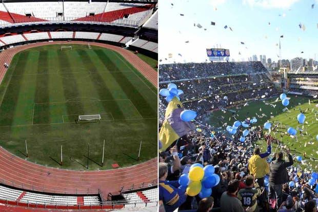 El Monumental y la Bombonera, en el top ten mundial
