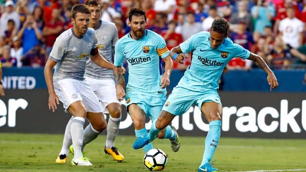 Ya llegó la asistencia de Messi y Neymar vencerá a De Gea