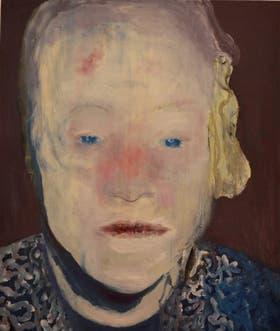 The white desease (1985). Marlene Dumas, una de las artistas vivas mejor cotizadas del mundo, refleja cuerpos que padecen violencia.