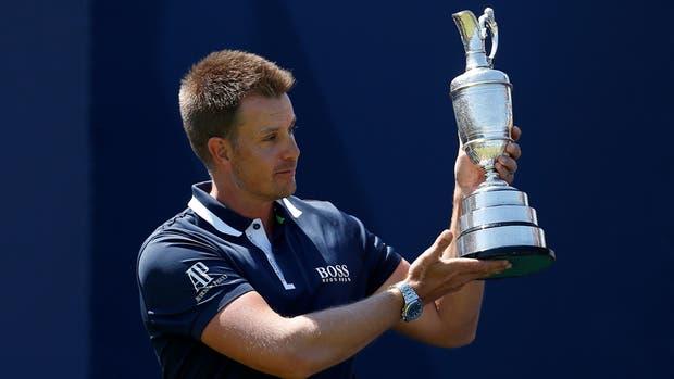Henrik Stenson, el sueco que defiende el título del Open en Royal Birkdale