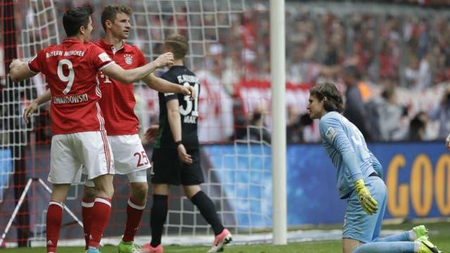 Bayern Munich sigue su andar arrollador en la Bundesliga