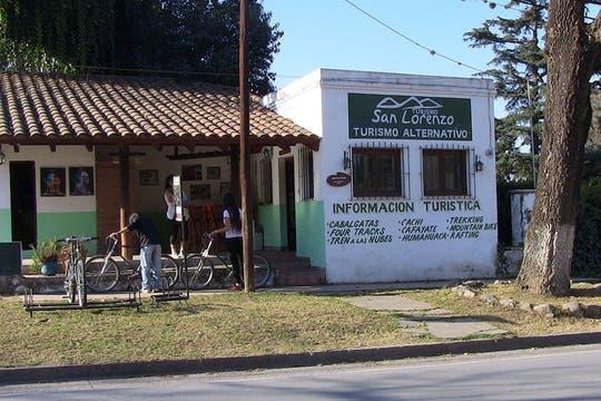 Centro de información turística en la Quebrada de San Lorenzo. Foto: lanacion.com / Constanza Longarte