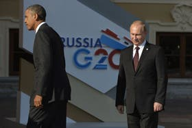 Vladimir Putin y Barack Obama discutieron sobre Siria, al margen del G-20
