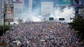 Un nuevo muerto en una marcha en Venezuela