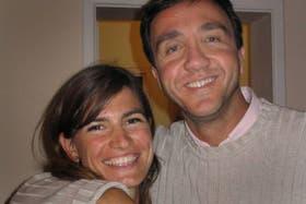 Vandenbroele y su ex mujer, en otros tiempos