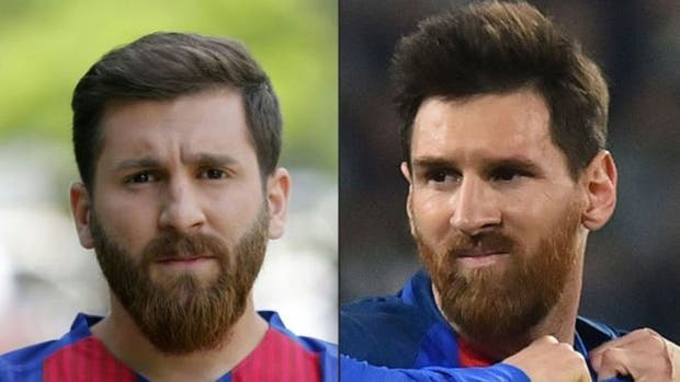 El falso Messi iraní tuvo problemas con la policía