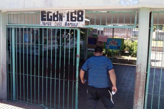 En la escuela n° 168 de Ciudad Evita votaban unas 4500 personas. Foto: LA NACION / Iván Ruiz
