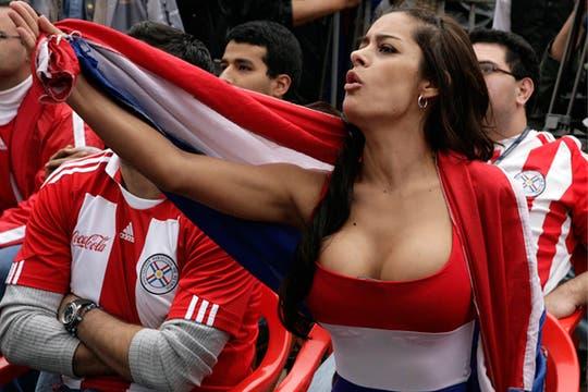 La modelo parguaya Larissa Riquelme y su impactante figura. Foto: Reuters