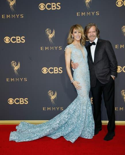 Felicity Huffman y William H. Macy. Foto: AP
