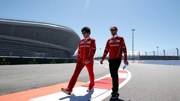 Vettel pretende mantener el buen comienzo de temporada de Ferrari