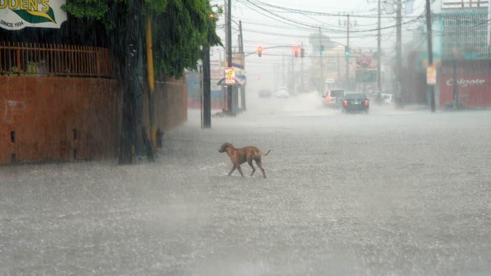 El huracán Matthew provocó inundaciones y deslizamientos de tierra en Haití