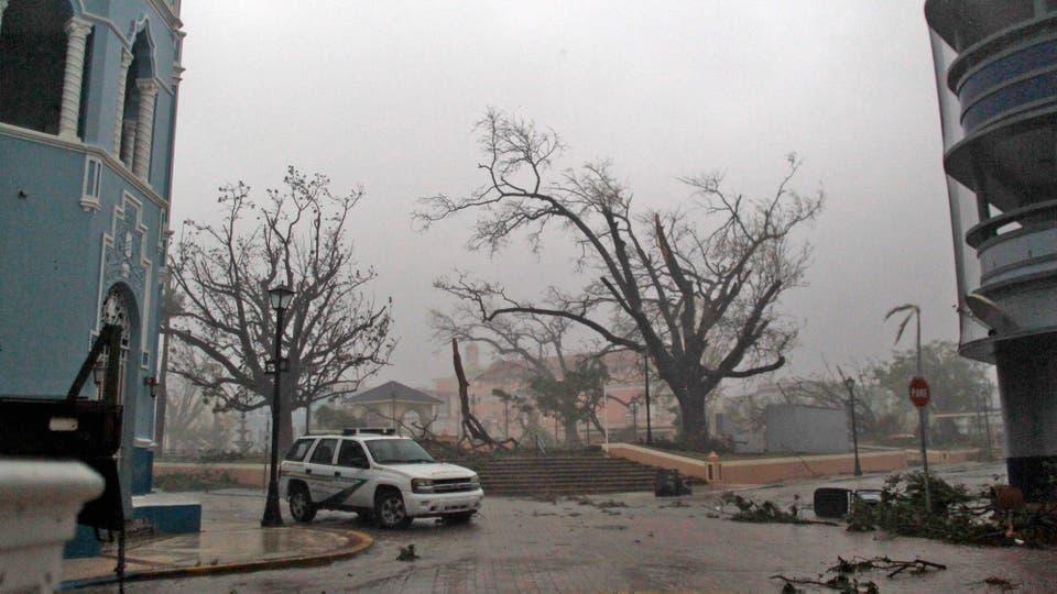 El hurac n mar a toc tierra en puerto rico con categor a - Puerto rico huracan maria ...