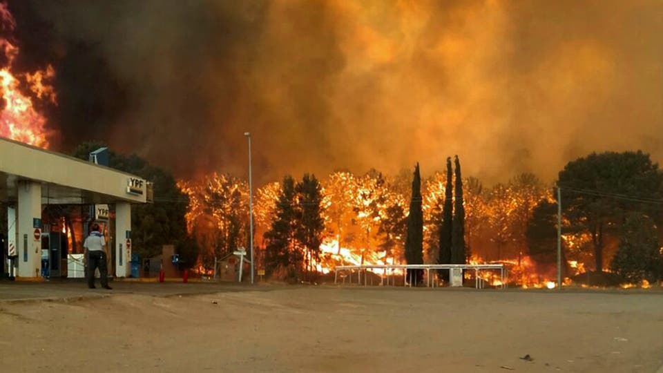 Resultado de imagen para incendios forestales como el que afectó a Valeria del Mar