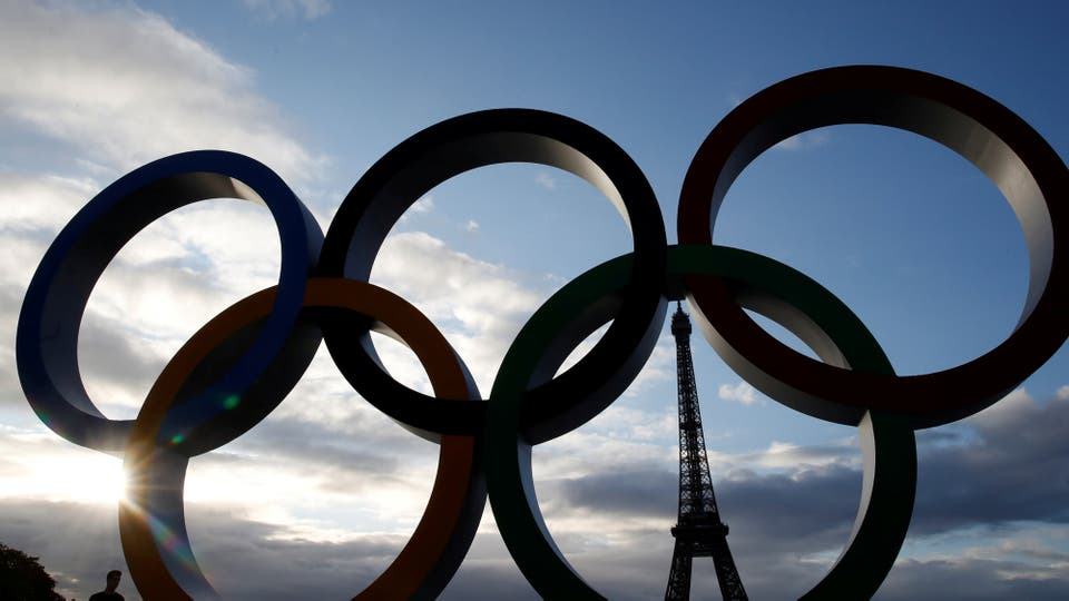 París festeja la realización de los Juegos Olímpicos 2024 en Francia. Foto: Reuters / Christian Hartmann
