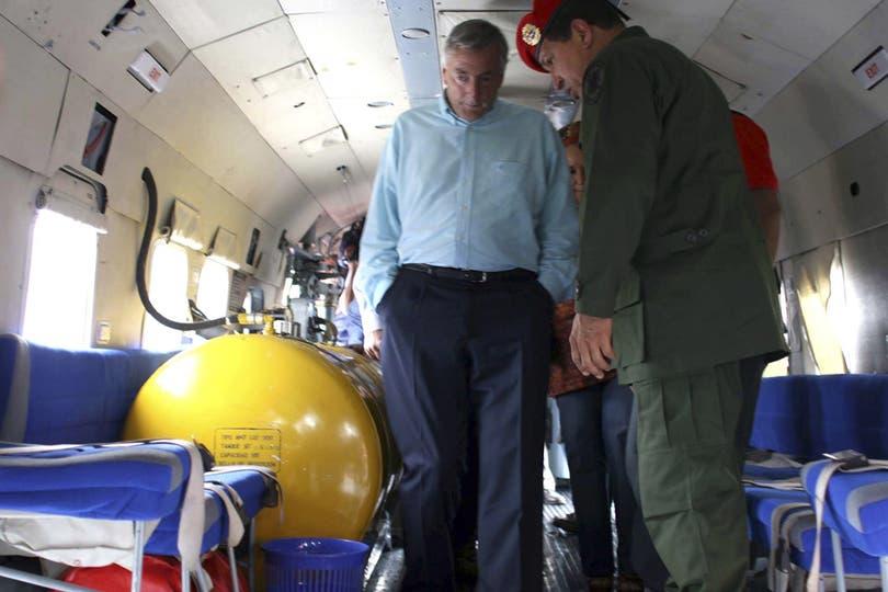 El 28 de diciembre de 2007, Hugo Chávez y Néstor Kirchner, durante un fallido intento de rescate de rehenes en manos de la guerrilla colombiana. Foto: Archivo