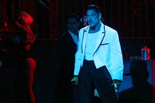 Luego de la notoriedad adquirida en ShowMatch, estrenó su primera obra como productor y actor teatral, Fortuna. Foto: Archivo / Mauro V. Rizzi / LA NACION