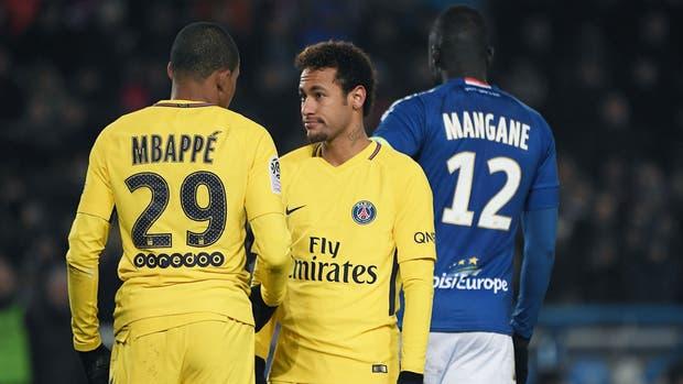 Neymar sufrió su primera derrota con el PSG