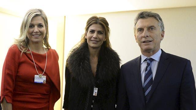 El Rey de Holanda y sus hijas llegaron al país