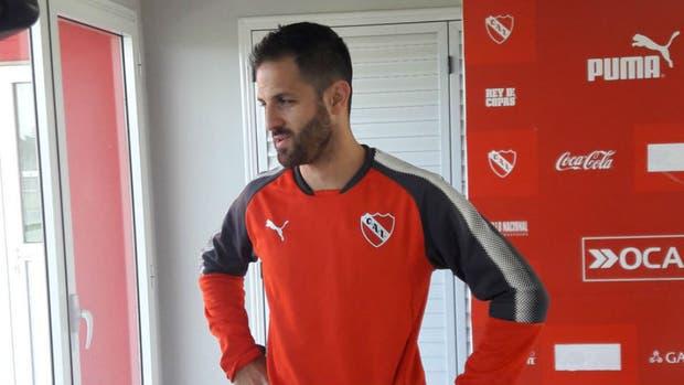 El nuevo refuerzo de Independiente habló en conferencia de prensa