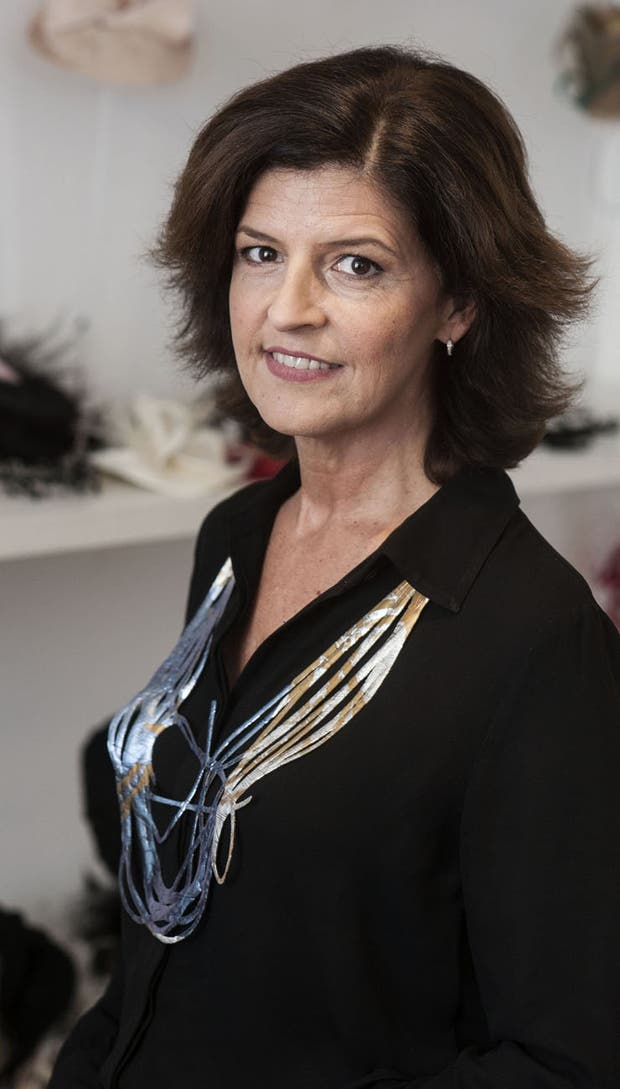 Laura Notinger es la milliner argentina de mayor experiencia