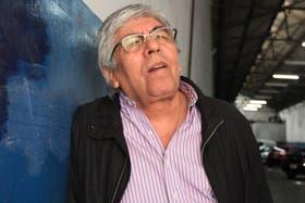 El dirigente gremial Hugo Moyano