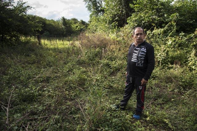 """Paso cerrado. Jesús Ledesma tiene problemas para llegar a su campo por las """"tranqueras narcos"""""""