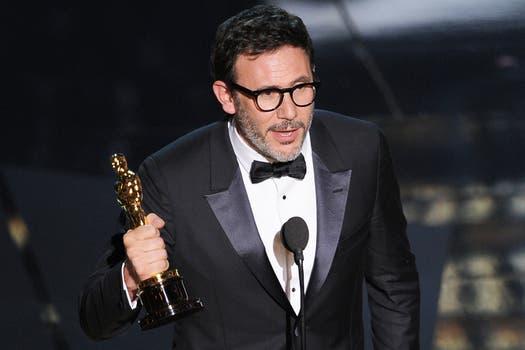 Michel Hazanavicius, mejor director por El artista. Foto: AFP