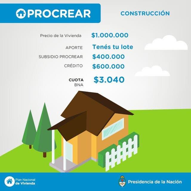 C mo es el nuevo plan procrear que present hoy mauricio for Plan de viviendas macri
