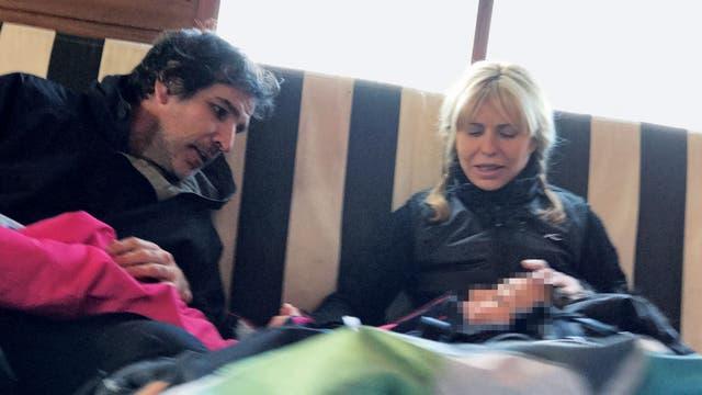 Karina Rabolini y su nuevo amor Ignacio Castro Cranwell