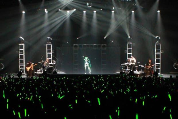 Hatsune Miku en un recital