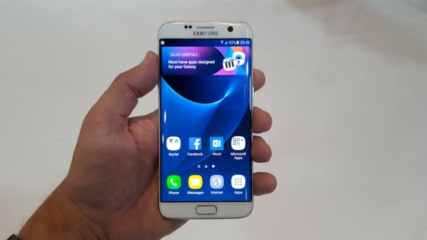 El Galaxy S7 fue presentado en febrero de 2016 en Barcelona, lo mismo que sus antecesores